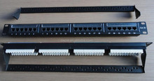 Cheap wholesale UTP RJ45 24 port cat 6 patch panel