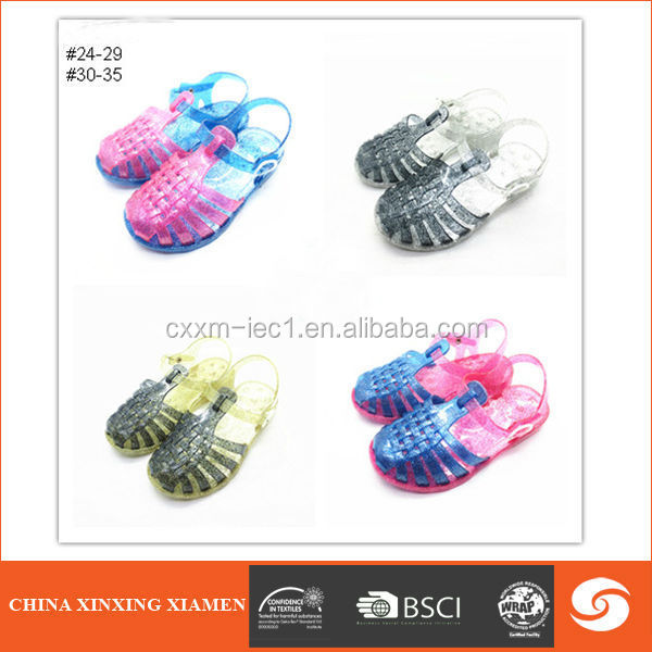 2015 colorful cute child shoe kids sandal
