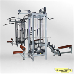 Commercial 9 Station Gym Equipment Exercise Multi Gym Equipment with Multifunction Exercise