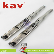 furniture fittings draw slides heavy duty ball bearing slide telescopic runners rails (C530)