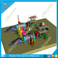 Continuous Feeding Lube Waste Oil Refinery To Disel Oil And Base Oil Distillation equipment