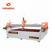 YONGDA 5 Axis Water jet Cutting Machine High Quality High-speed All spare parts are processed by Japan high accuracy CNC