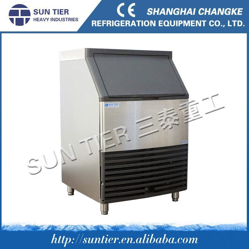 SUN TIER electronic snow ice cream vending refrigerator machine heavy duty