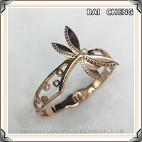 316 stainless steel unique charm Dragonfly Jewelry Bracelet