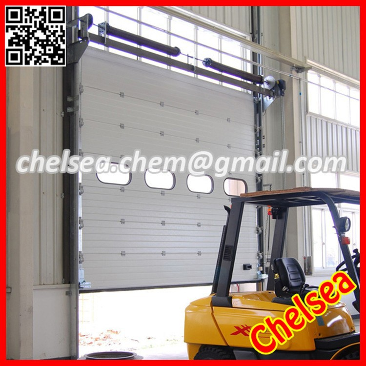 Main gate sectional industrial folding garage door