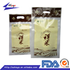PA+PE Plastic Material Agriculture Industrial Use Transparent Rice Bags/
