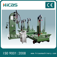 MJ319 automatic wood cutting vertical band saw machine