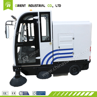 E800LD street sweeper car Multifunction robotic auto vacuum cleaner pavement sweeping machine