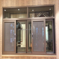 Guangdong factory best price aluminum horizonal aluminum windows