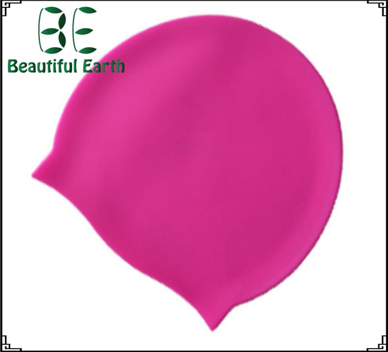 Plastic High Quality Printing Swim Cap with high quality