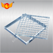 galvanized steel grating trench cover GM series drainage