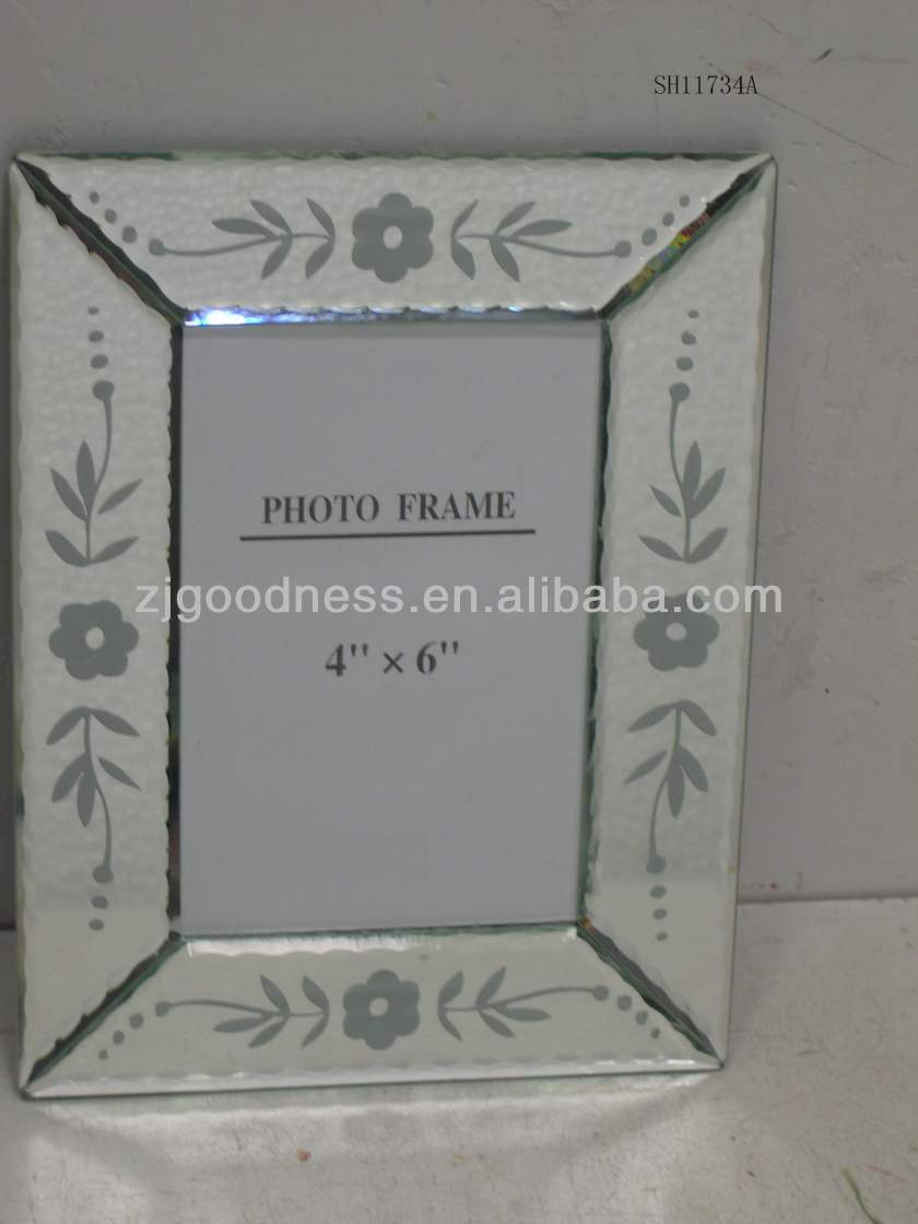 GOOD SALE 4''x6'' 3.5''x5'' Sexy Glass Photo Frame
