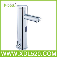 Automatic hand touch free cold and hot water mixer tap,bathroom taps,bathroom infrared automatic sensor