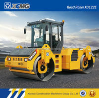 XCMG official manufacturer XD122E 12ton vibratory roller