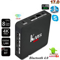 KM8 PRO Smart TV Box Android Amlogic S912 Octa-core VP9 H.265 4K Daul WiFi 1000M LAN TV Box media player download free