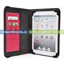 Vigo new book leather tablet cases for 7-8 inch tablet universal