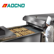 commercial used stainless steel tunnel oven pie making equipment