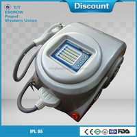 Longest working time smooth cool ipl hair removal