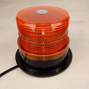 12W Car LED Strobe Light Beacon 12V/24V Amber Emergency Flashing Lights 7 Colors Housing For Police Warning Led Lamp