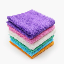 Factory price wholesale antimicrobial bamboo fiber lint-free kitchen cleaning cloth dish towel