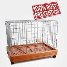 Top quality cat carrier iron wire dog cage discount cat carrier