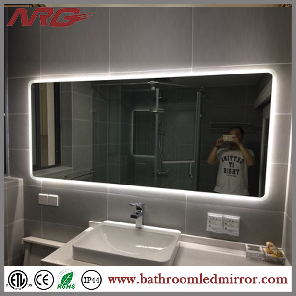 Hollywood Style Modern Bathroom Mirror With Lights