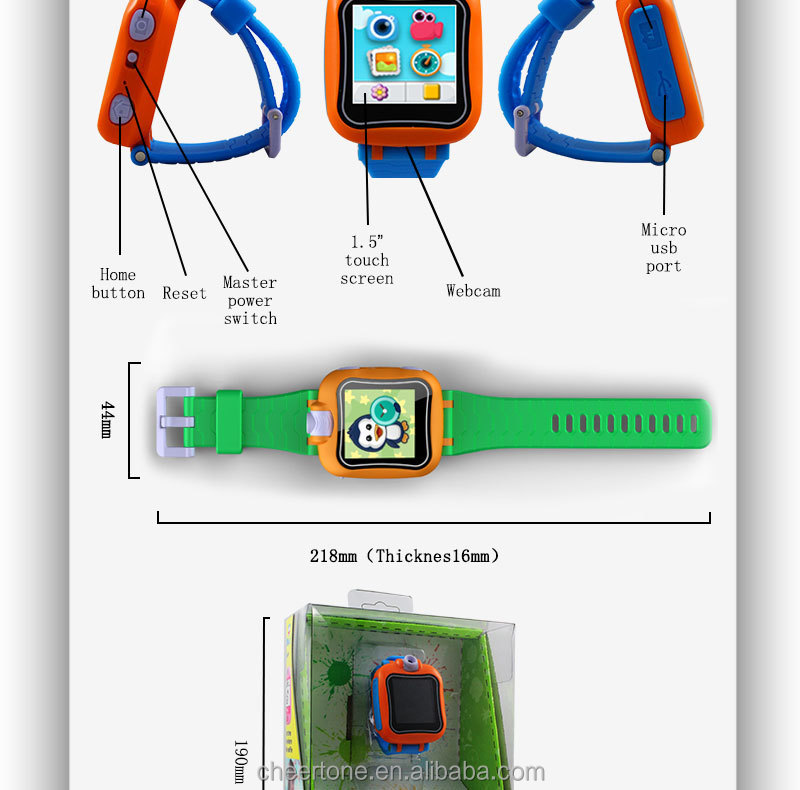 Fashion Time Management & Interactive Smartwatch for Kids