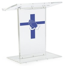 factory direct acrylic lecterns and podiums for sale