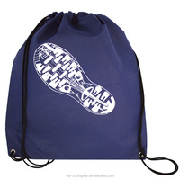 High quality promotion Shopping bag, Drawstring bag with logo printing
