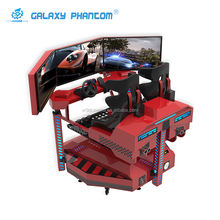 Amusement park 9d driving simulator 9d vr racing car simulator