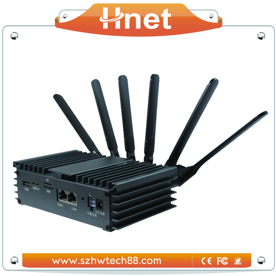 Industrial 4g Router with SIM Card Slot outdoor antenna Openwrt Router