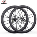 2017 Dengfu New bicycle wheel, Full carbon wheelset Tubular DT350 Hub carbon road wheels