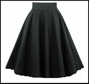 in stock fast ship small minimum order quantity vintage style clothing swing skirts 50's rockabilly 60s