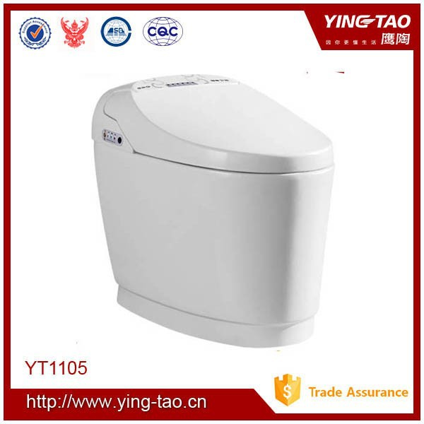 china supplier sanitary ware without water tank siphonic toilet automatic