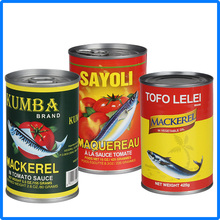 Supply Canned fish manufacture canned mackerel in tomato sauce