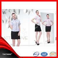 2014 high quality hot sell wholesale unisex best selling women office uniform style