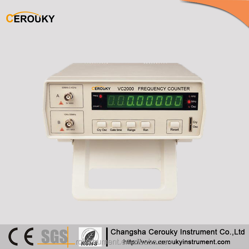 Digital portable function generator frequency counter meter 2000