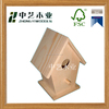 Cheap decorative Good quality engraving and handmade wood craft bird house