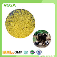 2015 New Animal Antibiotic Veterinary Medicine Yellow Granule Tilmicosin for Feed