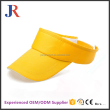 fashion style adjustable custom blank sport sun visor