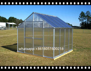 polycarbonate green house*DIY Greenhouse for outdoor garden prefabricated greenhouse sales