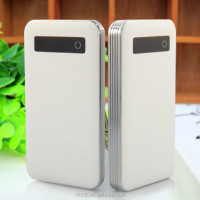 New Development supper Slim case/Touch button 5000mah mobile power bank for mobile phone ,MP3,MP4,PSP