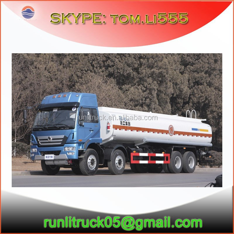 HOT!! New brand xcmg ruihu NXG1315 DPL1X 8*4 25 cubic meters oil field truck for sale in iran