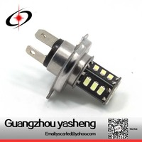 Factory price auto led fog lamp h4 18smd 5630 , 12v led car bulb h4 , car led h4