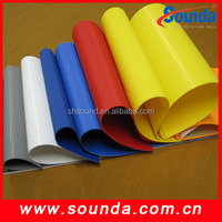 Sino factory 610g Laminated PVC Tarpaulin Materials for Tents