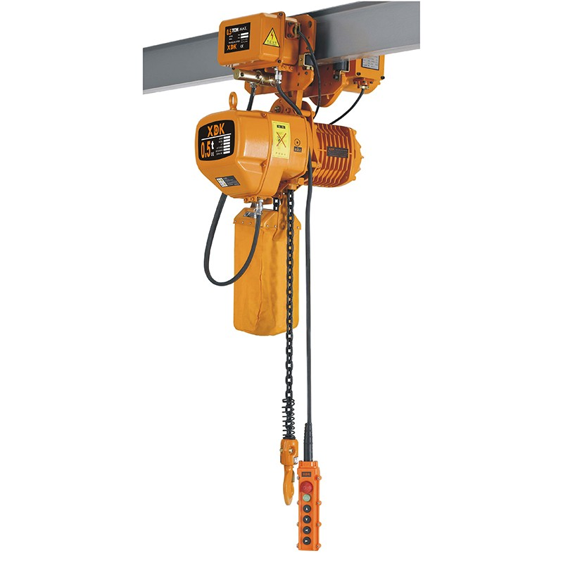 Electric Chain Hoist With Hook: 1ton-electric Chain Hoist With Hook Single Speed