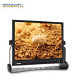 "2016 New Desktop 1024x768 3 Color Tally Light 15"" HD-SDI On Camera LCD Monitor with Camera Mode, Image Flip ,Image Freeze"