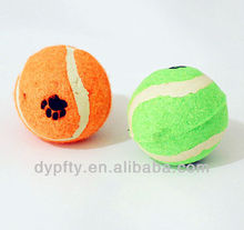 rubber pet ball toy
