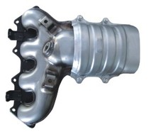 motorcycle catalytic converter