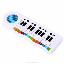 plastic instrument learning and educational piano keyboard toys